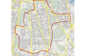 Mapa Dostawy Kwinto, ul. Madalińskiego 38/40, Warszawa